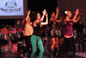 The Women's Caribbean Steel Pan Project