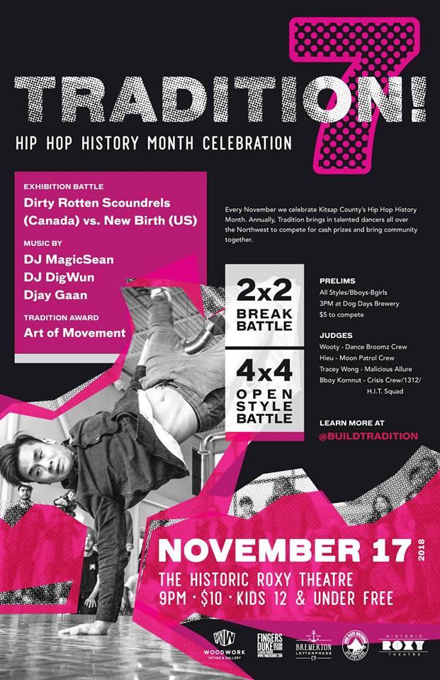 Dance Battle! Tradition 7, Bremerton Wa